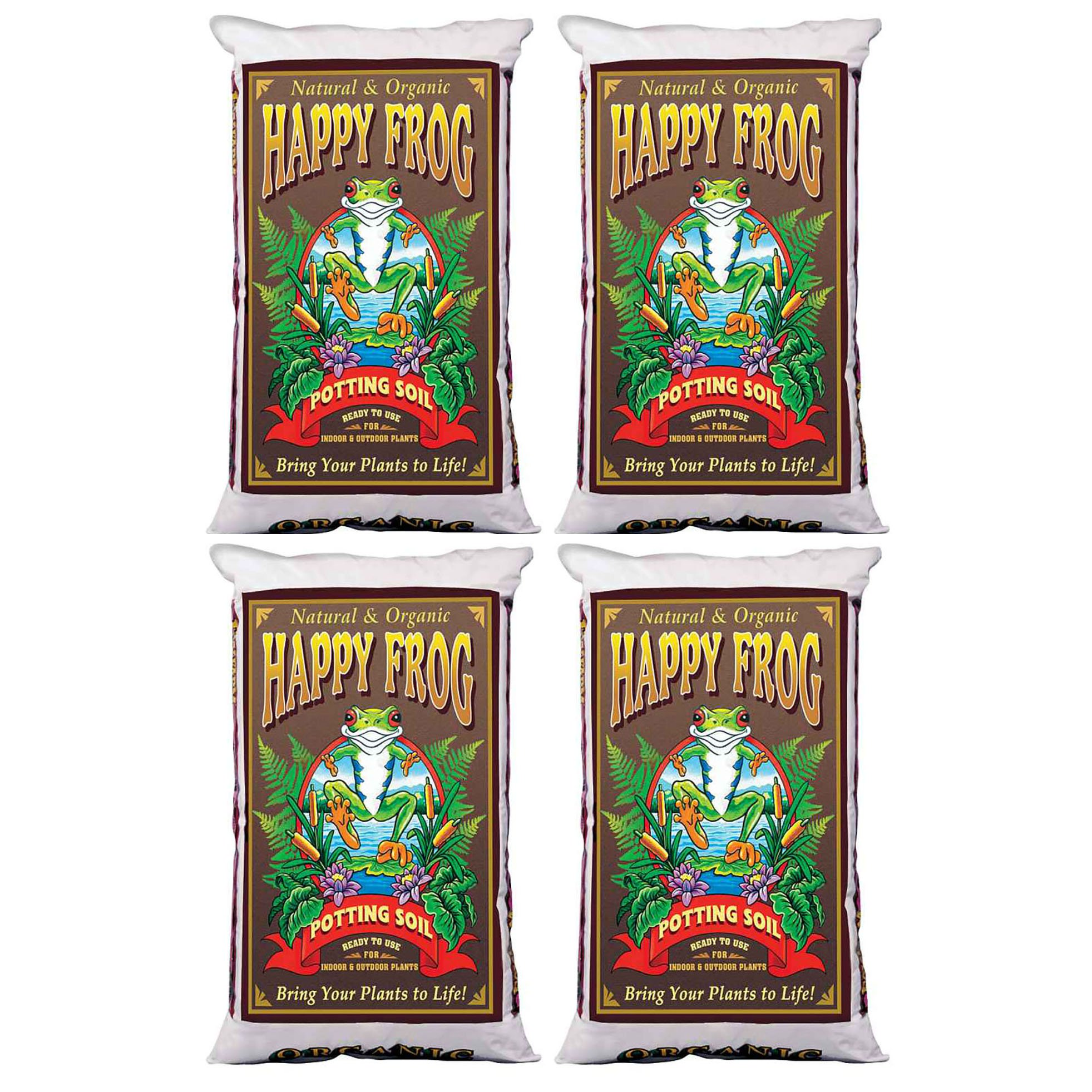 FoxFarm Happy Frog Nutrient Rich Rapid Growth Potting Soil, 8 Cu Feet | FX14081