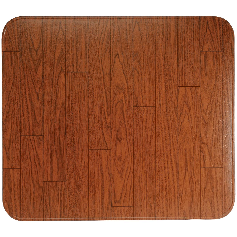 """HY-C T2UL3242WW-1C Type 2 UL1618 Woodgrain Tile Stove Board (32"""" x 42"""")"""