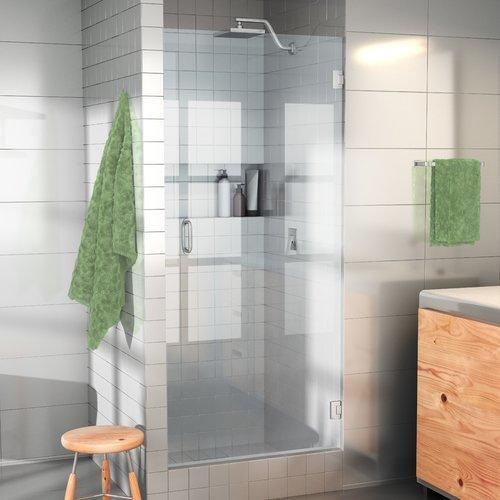 Glass Warehouse 29u0027u0027 X 78u0027u0027 Hinged Frameless Shower Door