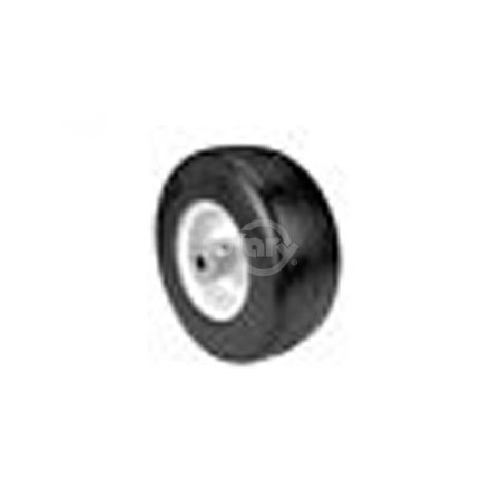 9X350-4 Reliance Smooth Tread Tire mounted on a flat base 4