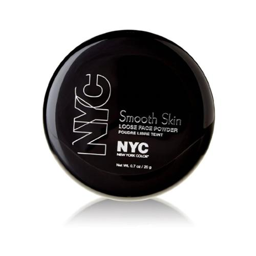 New York Color Smooth Skin Loose Face Powder, Translucent [741] 0.7 oz (Pack of 6)