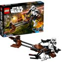 LEGO Star Wars Scout TM Trooper & Speeder Bike