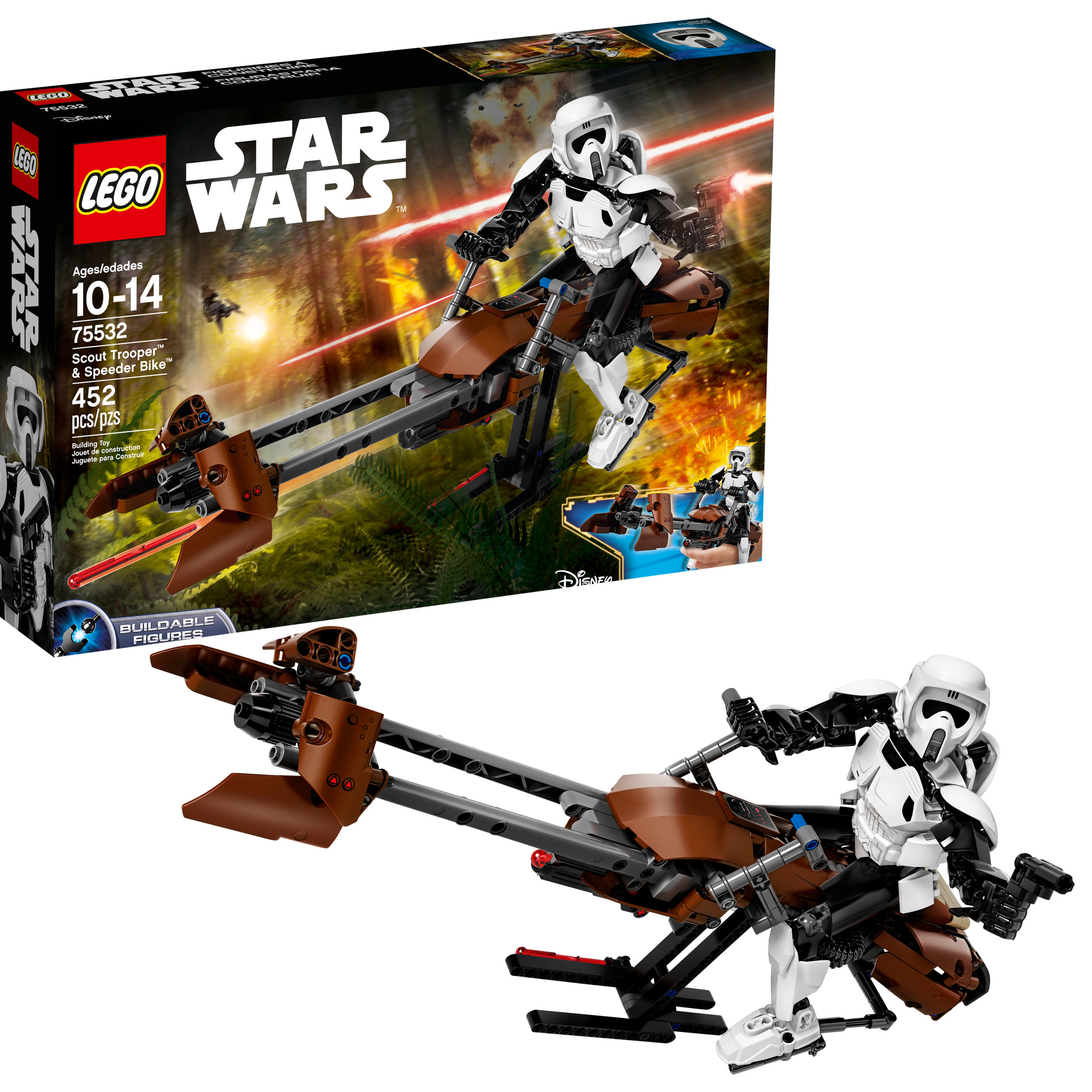 LEGO Star Wars Scout TM Trooper & Speeder Bike 75532