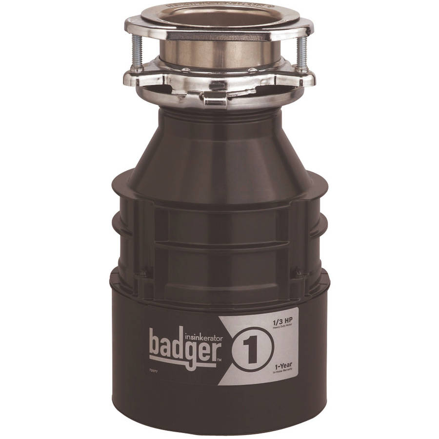 InSinkErator BADGER 1 Badger 1 Sink Garbage Disposer