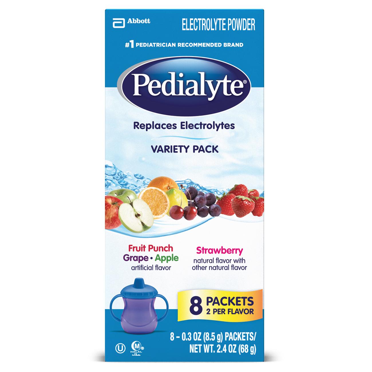 Pedialyte Electrolyte Powder, Electrolyte Drink, Variety ...