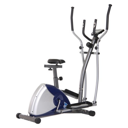 Body Champ BRM2680 Magnetic Elliptical Dual Trainer with Seat