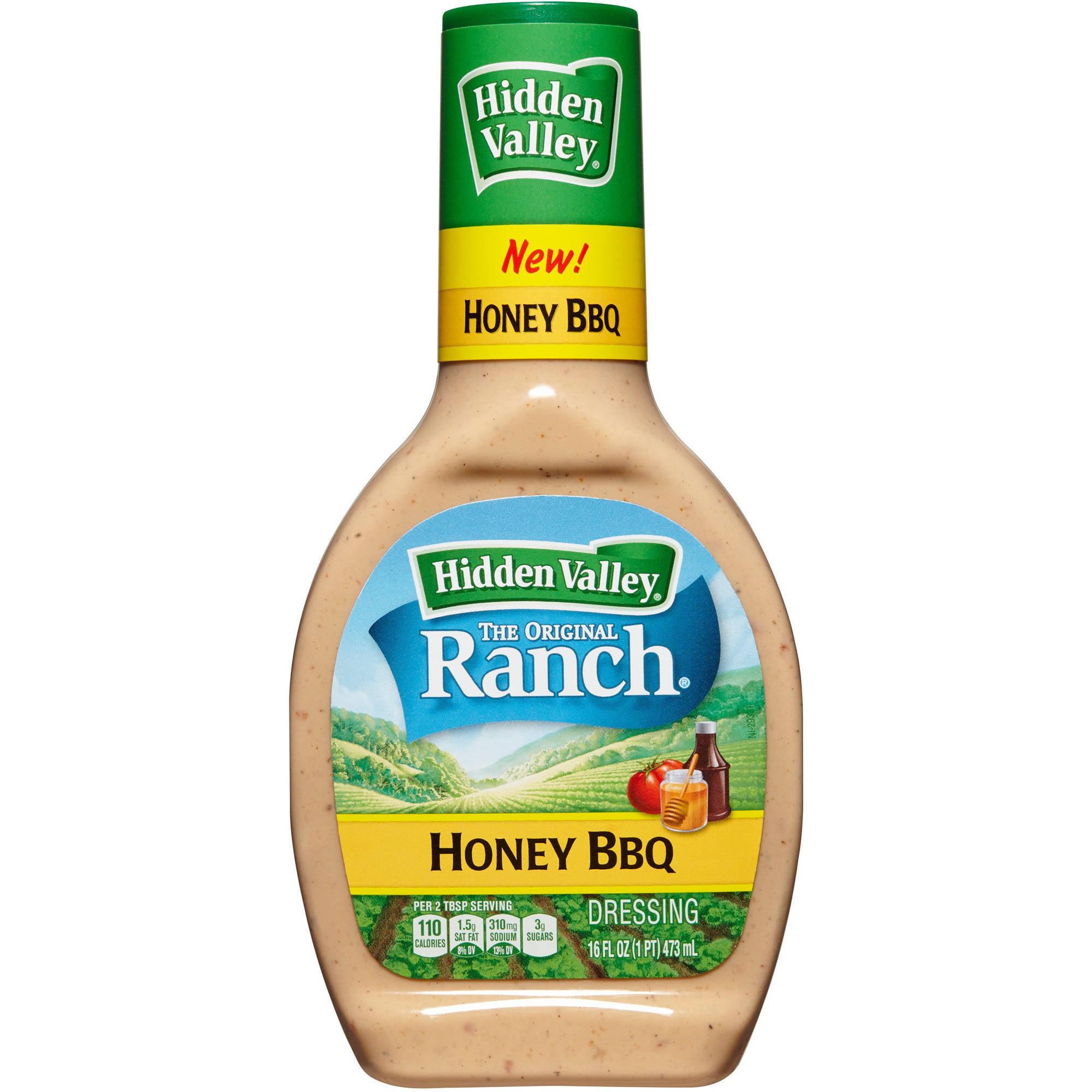 Hidden Valley The Original Ranch Honey BBQ Dressing, 16 fl oz