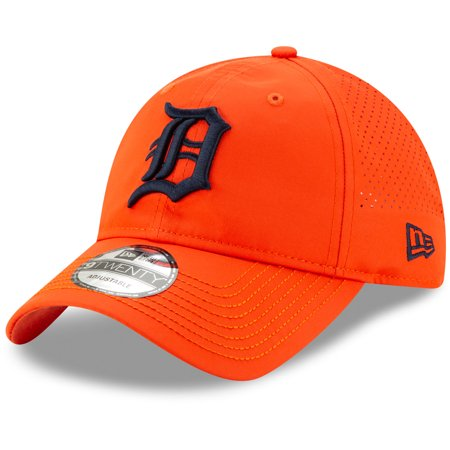 Detroit Tigers New Era Divot Ball Marker 9TWENTY Adjustable Hat - Orange - OSFA Ball Marker Adjustable Hat