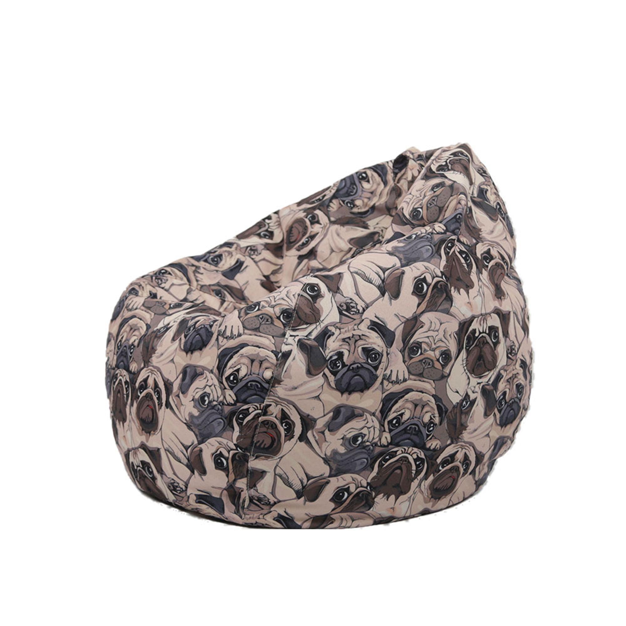 Bean Bag Covers (No Filler), Ultra Soft Cartoon Animal ...
