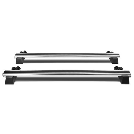 Genuine Hummer Parts - for 03-09 hummer h2 pair of aluminum oe style roof rack top cross bars w/ lock & keys 04 05 06 07 08