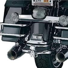 Kuryakyn Trailer Hitch Chrome Fits 09-13 Harley-Davidson Road King EFI FLHRI