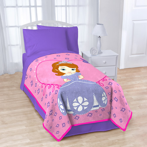 "Disney Sofia the First 62"" x 90"" Microfiber Blanket"