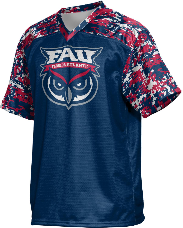 FAU ProSphere Men/'s Florida Atlantic University Digital Football Fan Jersey