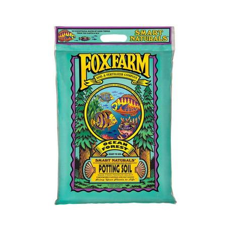 FoxFarm Ocean Forest Indoor Outdoor Garden Plant Potting Soil Mix, 12 Quart