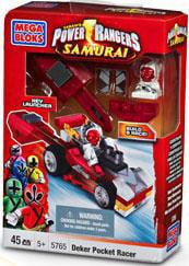 Power Rangers Samurai Deker Motor Head Set Mega Bloks 5765 by