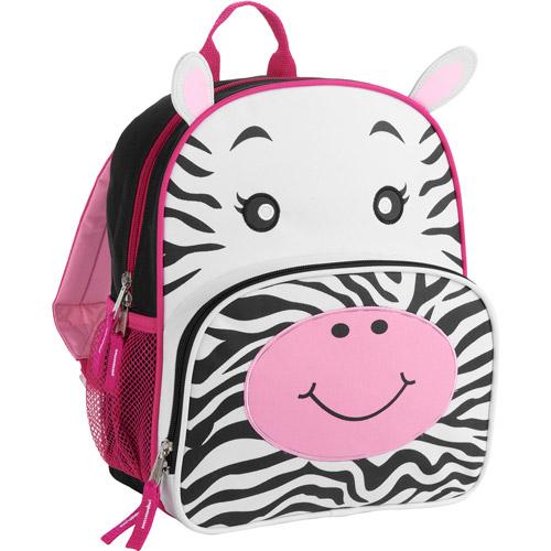 "Animal Friends 12"" Zebra Backpack"