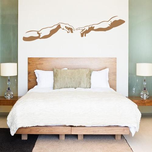 Style and Apply The Creation Vinyl Wall Art Decal