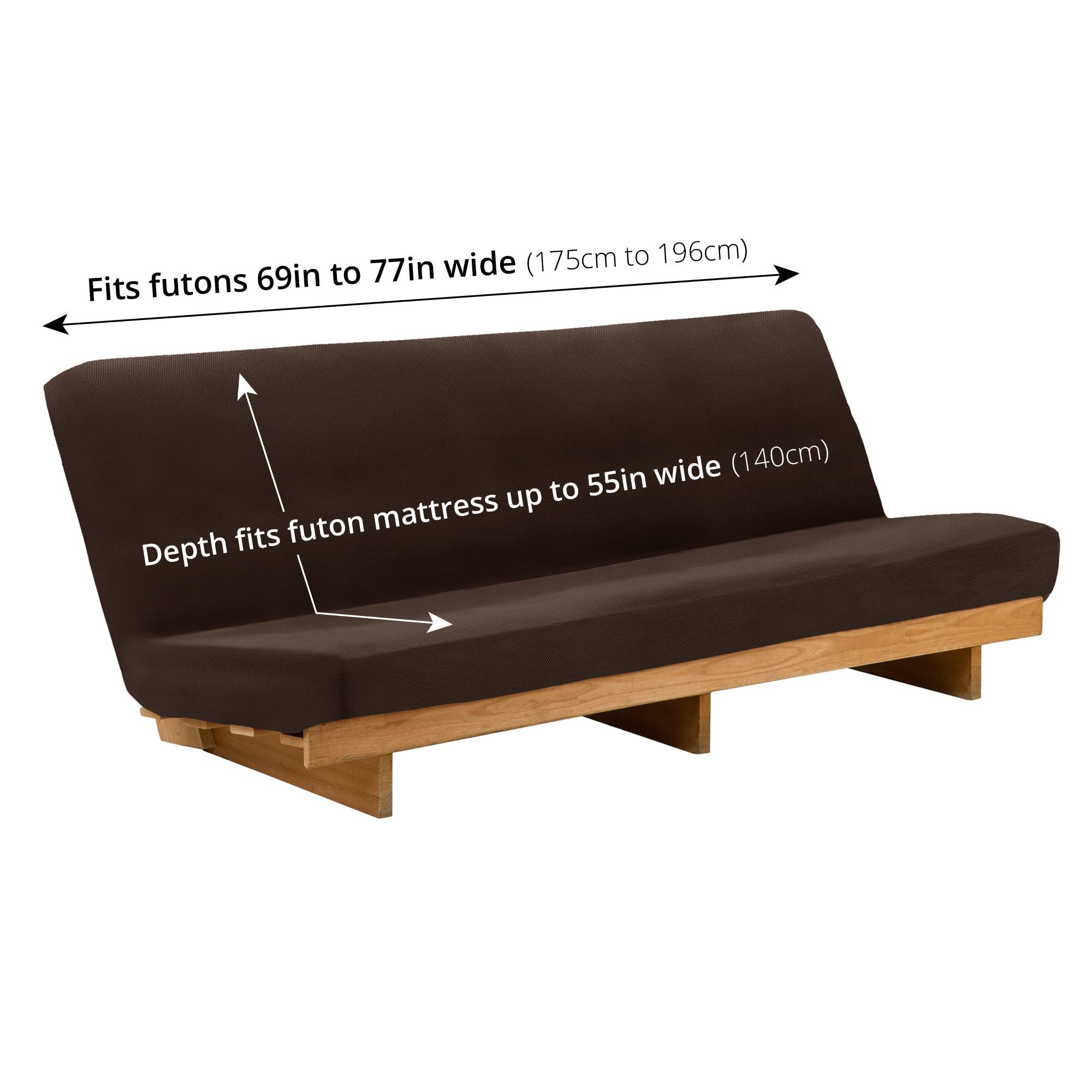 Maytex Pixel Stretch 1 Piece Futon Furniture Cover Slipcover Com