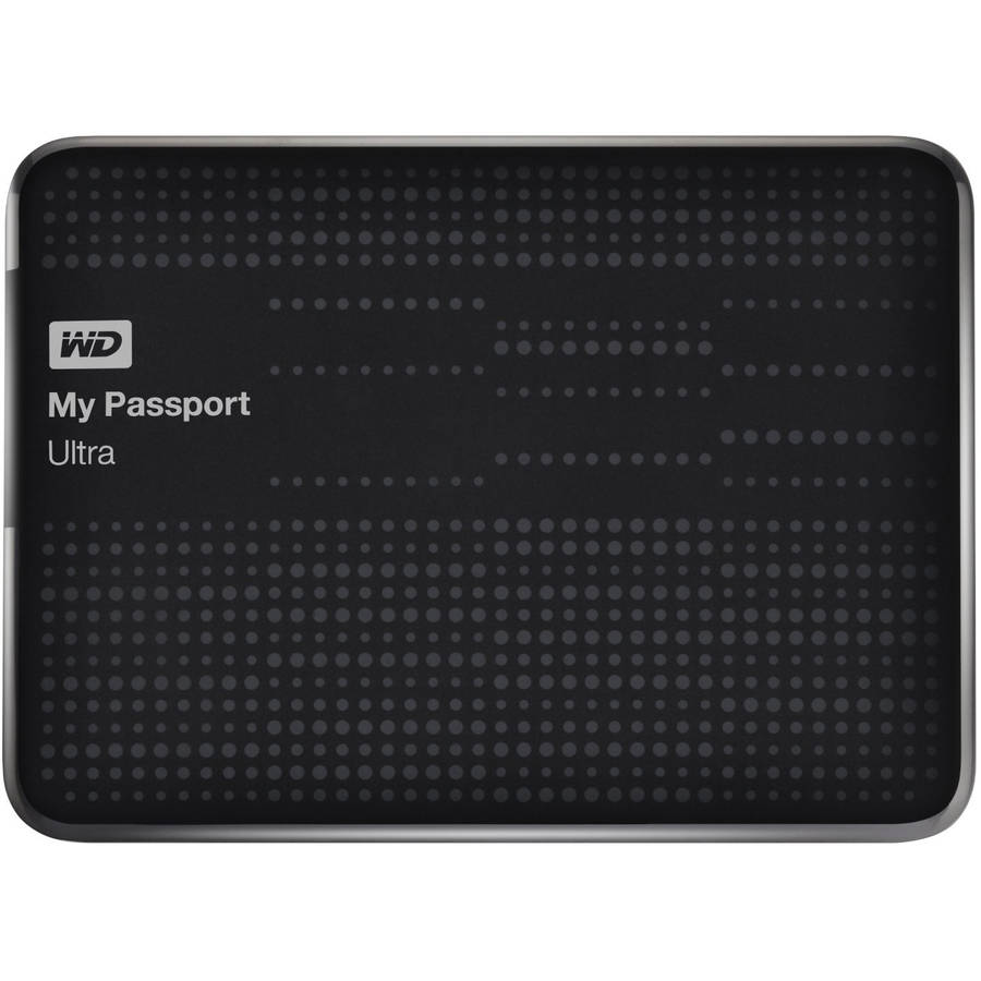 WD My Passport Ultra 500GB Portable External Hard Drive, Assorted Colors