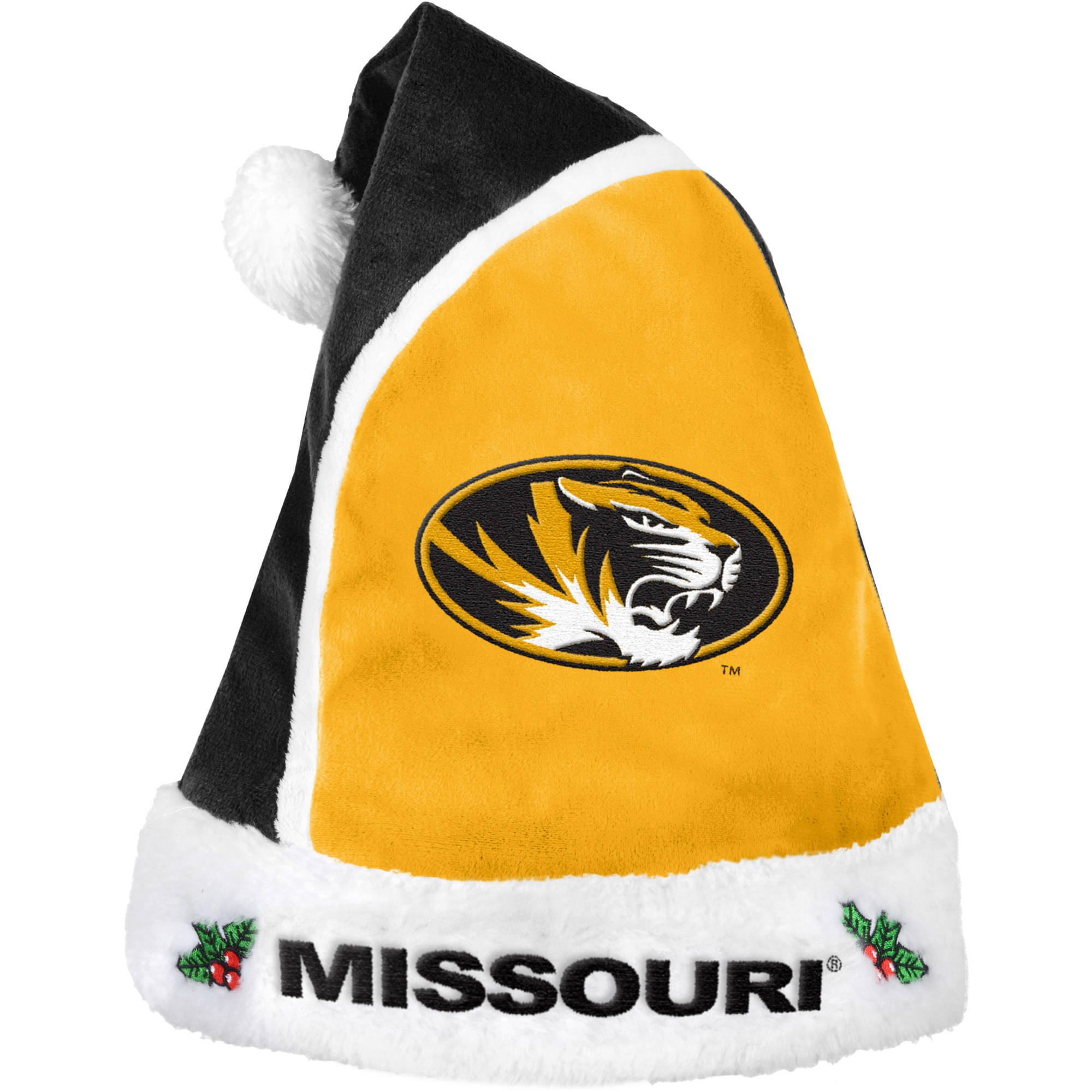 Forever Collectibles NCAA 2015 Santa Hat, University of Missouri Tigers