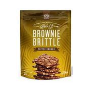 Brownie Brittle SG1244 Brownie Brittle, Toffee Crunch, 5-oz.