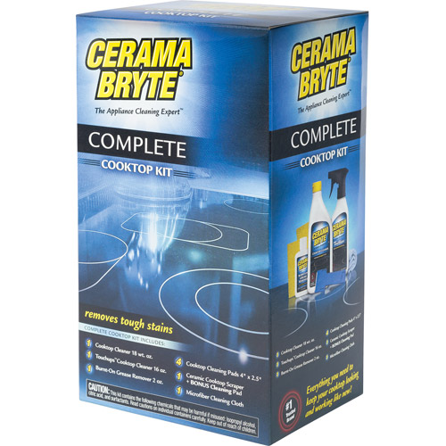 General Electric Cerama Bryte Complete Cooktop Cleaning Kit