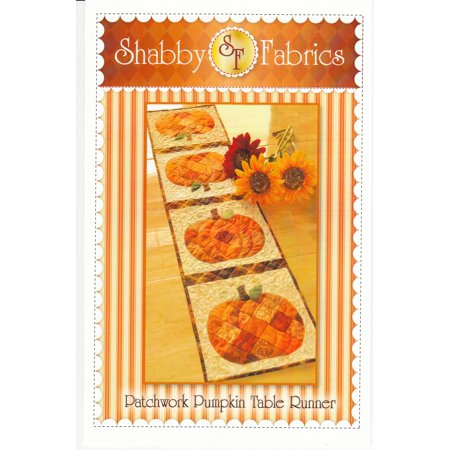 Shabby Fabrics Patchwork Pumpkin Table Runner (Pumpkin Quilt Pattern)