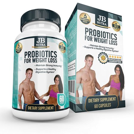 Probiotic Supplement - Best Lean Body Probiotics for Weight Loss | 40 Billion CFU | Pills - Capsules - Powder | Men adn Women | Lactobacillus Gasseri | Organic | Slim Body | Diet | Belly Fat