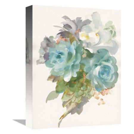 Gallet Bouquet - Global Gallery Garden Bouquet III Canvas Wall Art