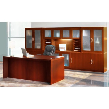 Exclusive Mayline Aberdeen Series Standard Desk Office Suite Recommended Item