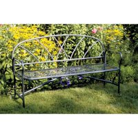 Achla Designs Lattice 54 in. Metal Bench