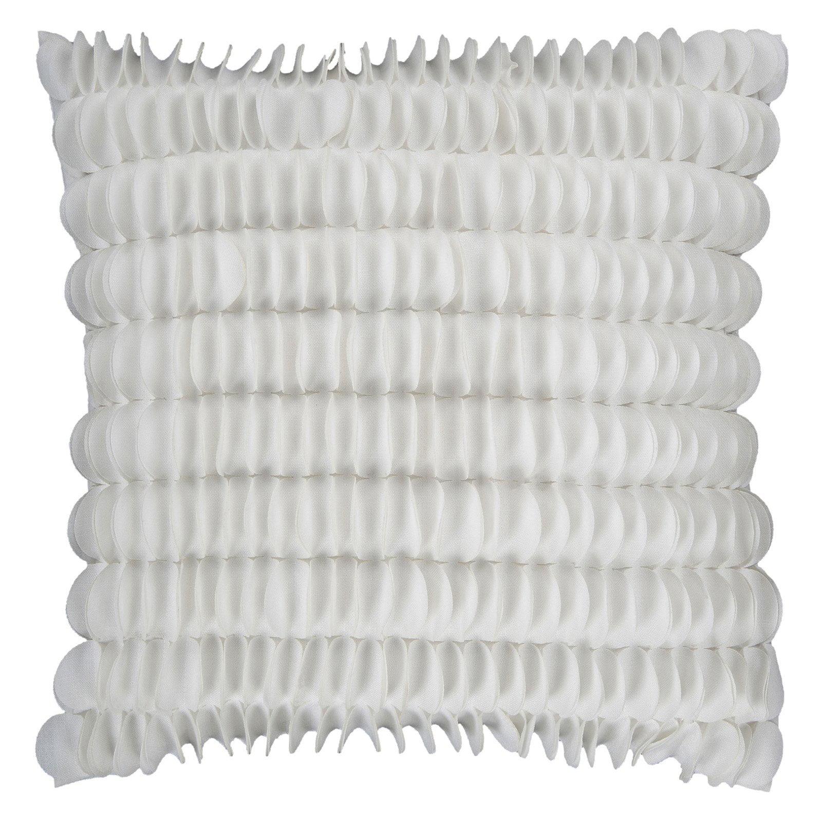 Surya Honeycomb Decorative Pillow - White