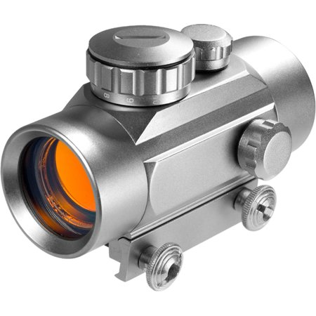 30mm Red Dot Scope in Silver Finish thumbnail