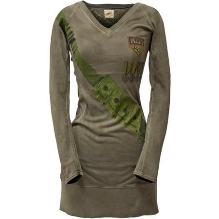 Kiss - Kiss Army Premium Juniors Long Sleeve Tunic Dress