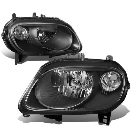 For 2006 to 2011 Chevy HHR Headlight Black Housing Clear Corner 07 08 09 10 LS LT 2LT SS