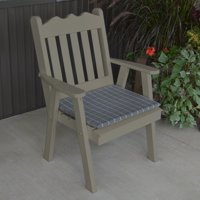A & L Furniture Yellow Pine Royal English Dining Chair