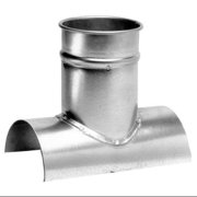 """Nordfab 8"""" x 8"""" Tap In, Round Duct Fitting, 22 ga., 3224-0808-100000"""