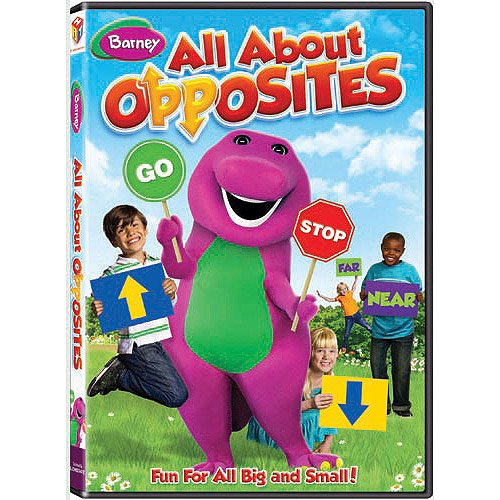 Barney: All About Opposites (Full Frame)