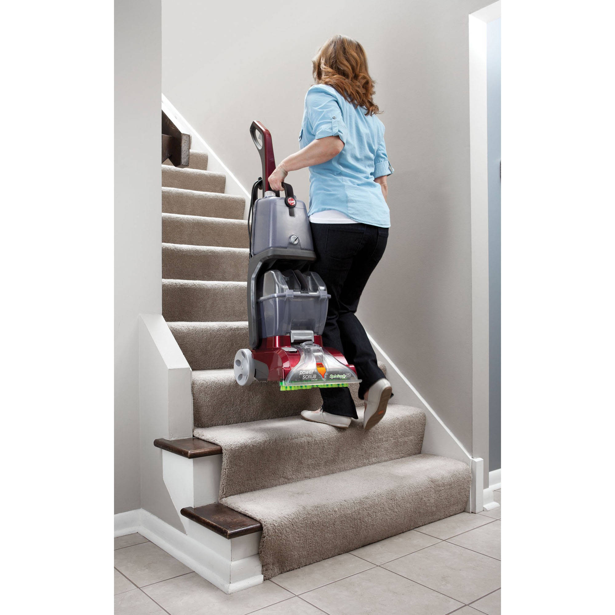 Hoover Power Scrub Deluxe Carpet Cleaner, FH50150   Walmart.com