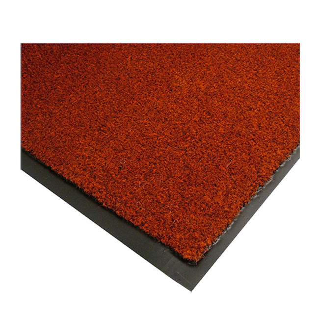 Rely-On Olefin Mat Castellan Red 2' x 3'