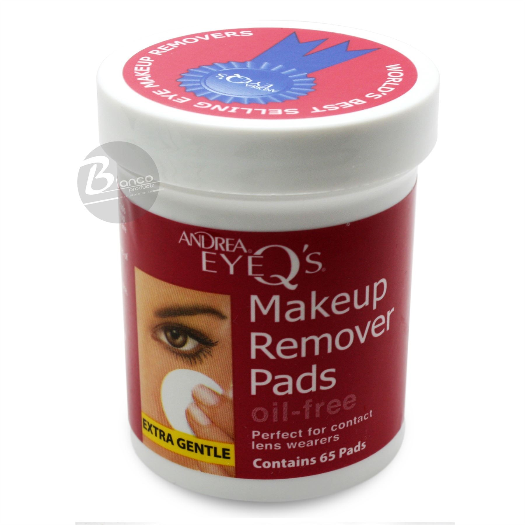 Ardell Eye Q's Oil Free Pads, 65 Ct