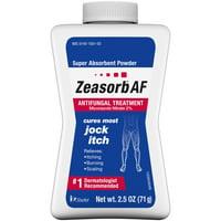 Zeasorb AF Jock Itch Powder, 2.5 oz