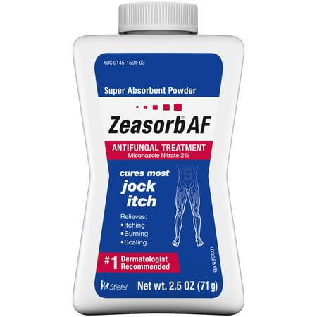 Zeasorb  Af Super Absorbent Powder Jock Itch Antifungal Treatment 2 5 Oz  Bottle