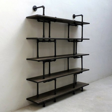 Beechwood Furniture (Furniture Pipeline Eugene Modern Industrial Etagere Bookcase)