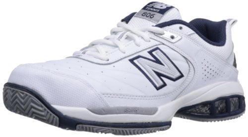 men's mc806 4e width tennis shoes white
