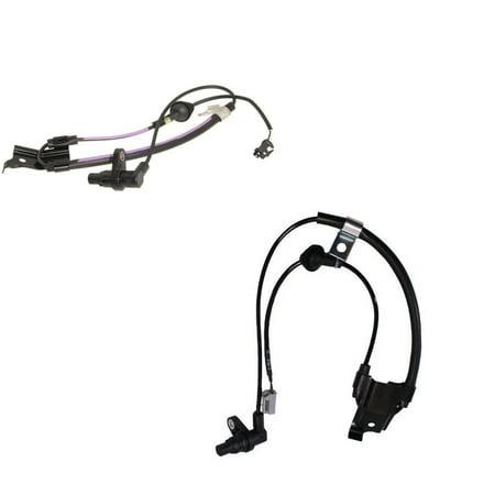 Brand New Rear Left & Rear Right ABS Wheel Speed Sensor for Toyota Highlander (New Rear Wheel)