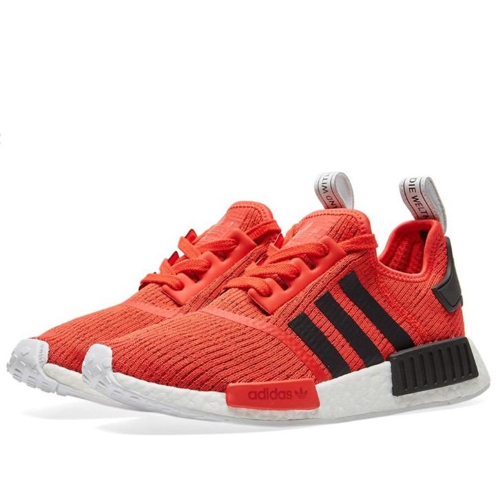 Adidas Mens NMD_R1 Red Black BB2885 by Adidas
