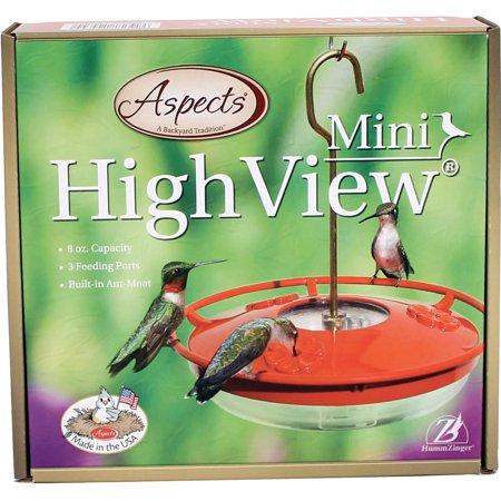 Aspects HummZinger Mini HighView 8 oz Hanging Hummingbird