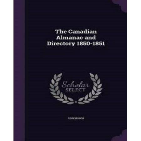 The Canadian Almanac and Directory 1850-1851 - image 1 de 1