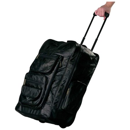 Italian Stone Design Genuine Leather Super-Deluxe 23 Trolley/Backpack